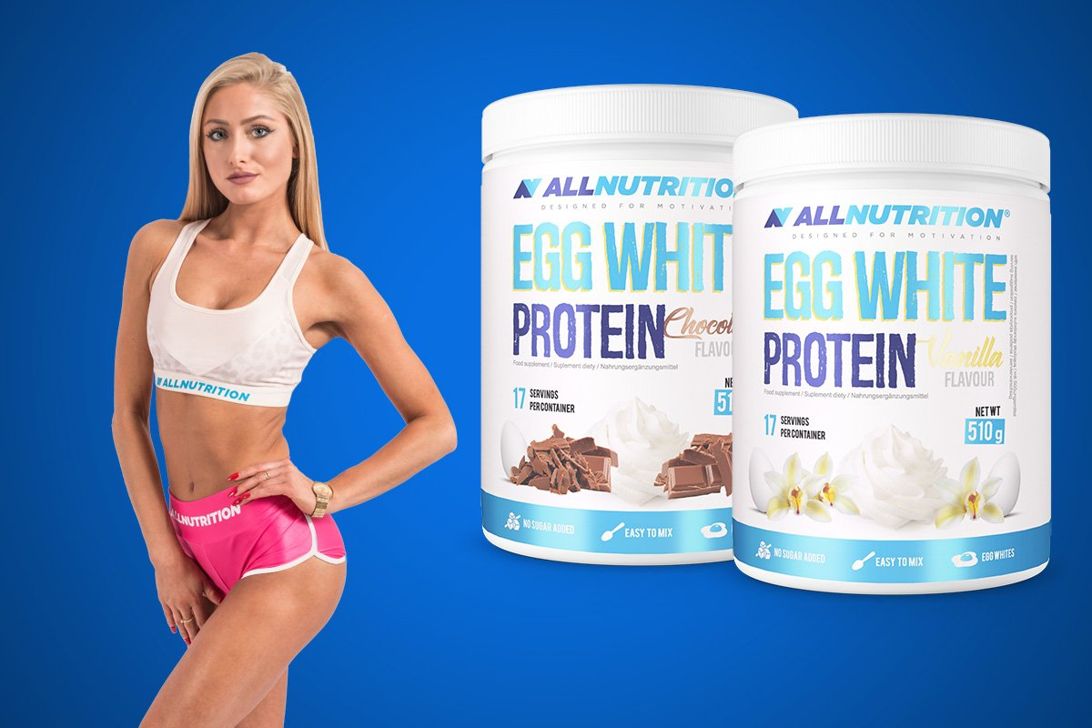 białko jaja kurzego allnutrition