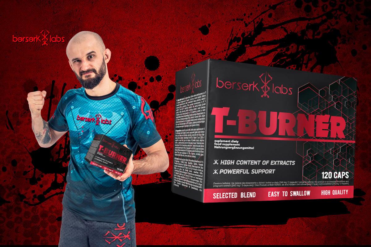 56ff7708720d 69 PLN • T-Burner 120caps - Berserk Labs • NAJTANIEJ • Sklep SFD